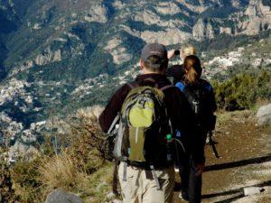 hiking tour amalfi